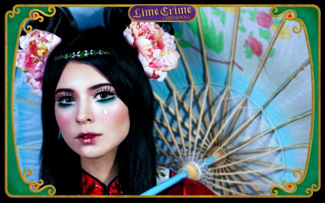 china doll lime crime makeup