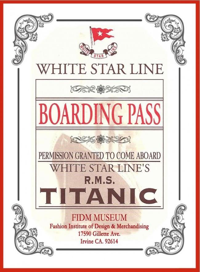 fidm titanic