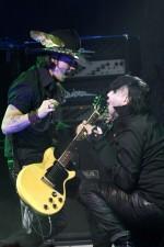 Marilyn Manson with Johnny Depp and Taylor Momsen Live at Golden Gods Awards