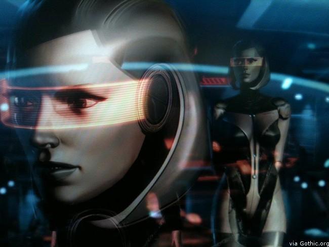 edi cosplay robot babe