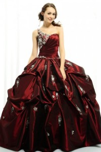 Blood Queen Gothic Bride Gown