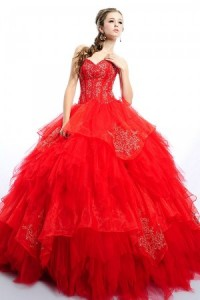Devilish Taffeta Gown