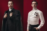 Gary Oldman and Jamie Bell for Prada