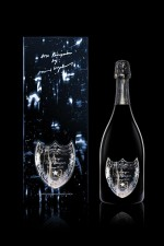 David Lynch Designed Labels for Dom Pérignon