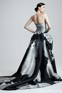 Carolina Herrera couture gowns