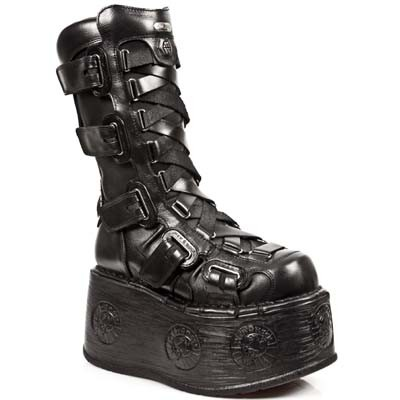 New Rock Platform Boot