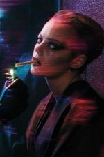 Emma Stone Blade Runner Shoot