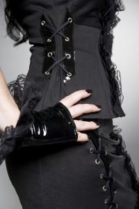 PurPur corset shirt