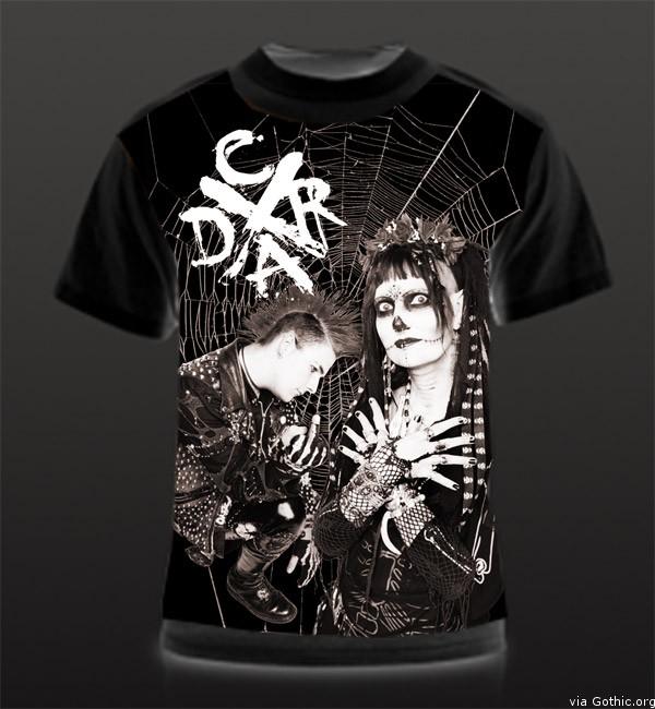 deathrock tshirt