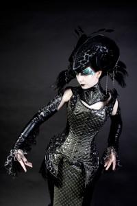 imaginarium lizard corset