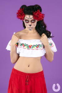 Lone Star Pinup Day of the Dead