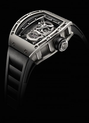 richard mille limted edition skull watch side