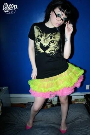 1Aeon golden kitty cat