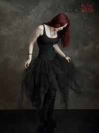 corsette fairy skirt tulle velvet