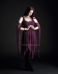 Eolande lace faerie dress
