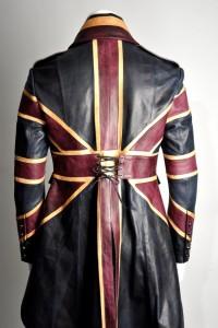 impero london union jack leather jacket