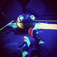 deadmau5 hat by bed