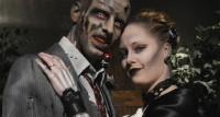 gothic wedding viva las vegas