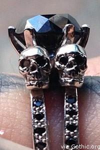 kat von d engagement ring deadmaus black diamonds