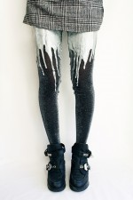 Urb Clothing Melted Tights