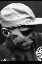 Zombie Boy Poses for Rocawear?