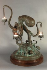 Walktopus Candle Holder