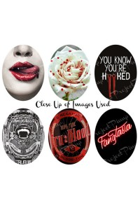 Project Pinup True Blood Inspired Cameo Stretchy Bracelet