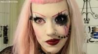 Adorabat Candy Cane Eyebrows Makeup Tutorial