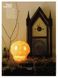 Martha Stewart Halloween Light Headed
