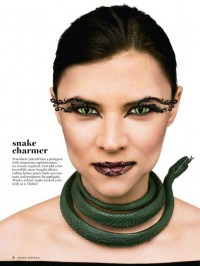 Martha Stewart Halloween Makeup