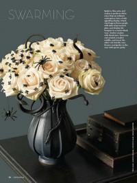 Martha Stewart Halloween Spider Roses