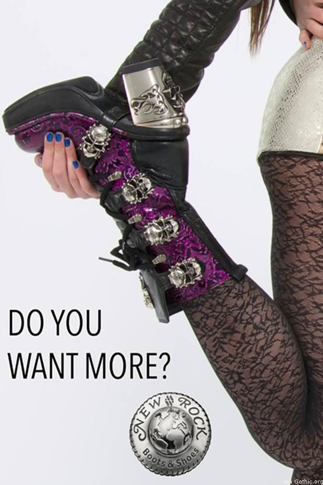 NPK skull boots
