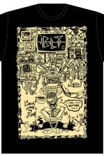 Black Leather Times Tshirts